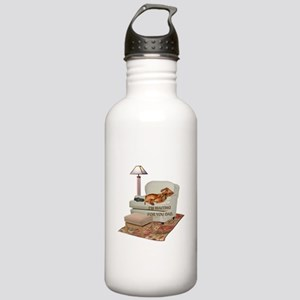 TV Doxie Dad Stainless Water Bottle 1.0L