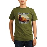 Pheasant Plucker Organic Men's T-Shirt (dark)