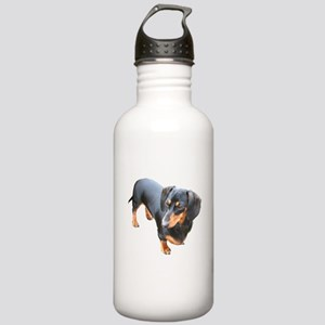 'Lily Dachshund Dog' Stainless Water Bottle 1.0L