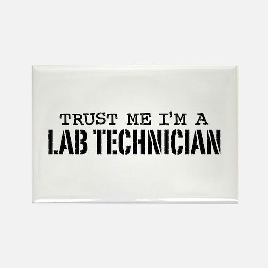 Lab Technician Rectangle Magnet