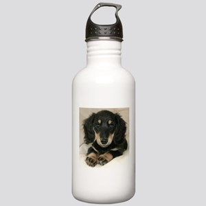 Long Haired Puppy Stainless Water Bottle 1.0L