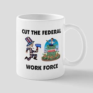 CUT THEIR PAY Mug