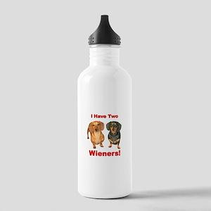 Two Wieners Stainless Water Bottle 1.0L
