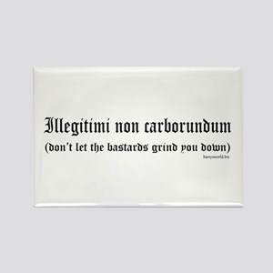 Illegitimi Rectangle Magnet (10 pack)