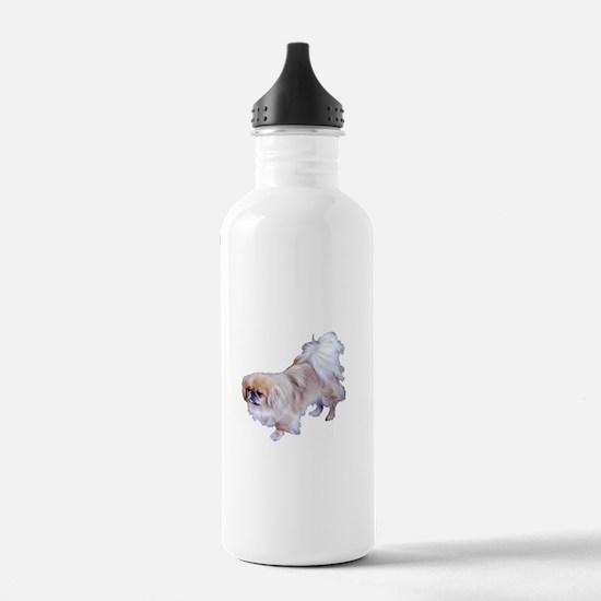 Pekingese Dog Water Bottle