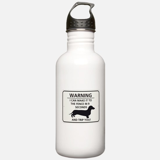 Warning Trip You Sports Water Bottle