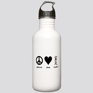 Peace, Love & Reiki Stainless Water Bottle 1.0L