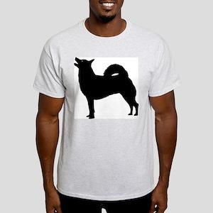 Norwegian Buhund Ash Grey T-Shirt