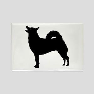 Norwegian Buhund Rectangle Magnet