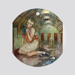 PENT-UP ALICE Ornament (Round)