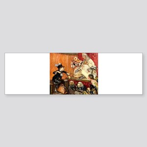 MAD HATTER TESTIFIES Sticker (Bumper)