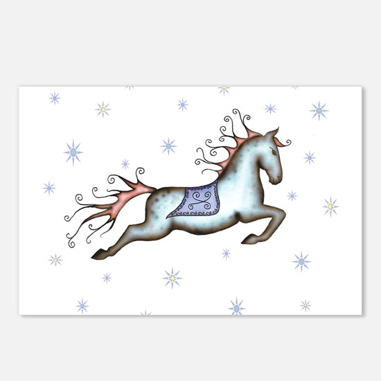 Starry Sky Horse Postcards (Package of 8)