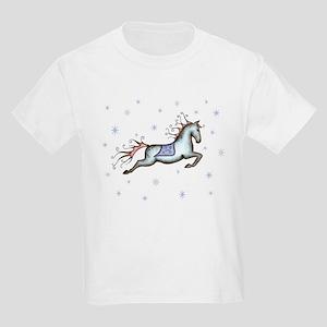 Starry Sky Horse Kids T-Shirt