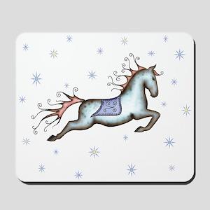 Starry Sky Horse Mousepad