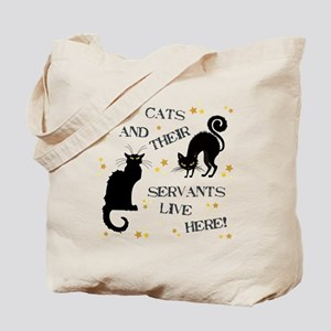 THE CAT AND THEIR... Tote Bag