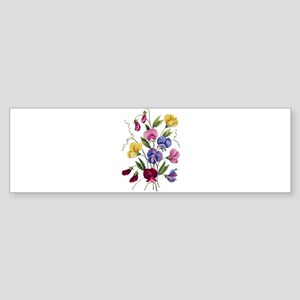 SWEET PEAS Sticker (Bumper)