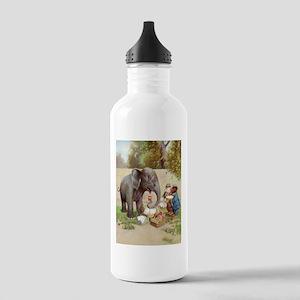 ROOSEVELT BEARS ELEPHANT PICN Stainless Water Bott