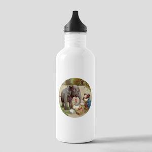 R0OSEVELT BEARS ELEPHANT PICN Stainless Water Bott