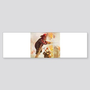 ROOSEVELT BEARS - FIREFIGHTER Sticker (Bumper)
