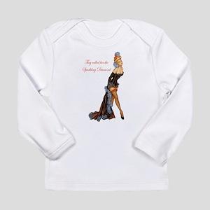 Sparkling Diamond Long Sleeve Infant T-Shirt
