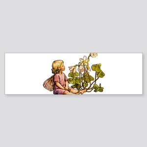WOOD SORREL FAIRY Sticker (Bumper)