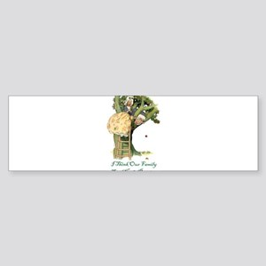 OUR FAMILY TREE Sticker (Bumper)