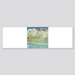 NEPTUNE'S HORSES Sticker (Bumper)