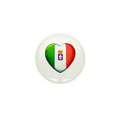 My Italian Heart Mini Button (100 pack)