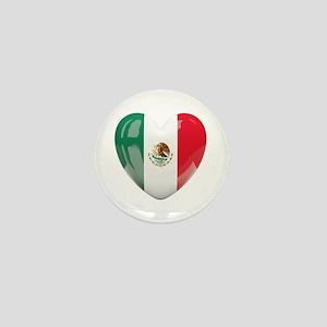 My Mexican Heart Mini Button