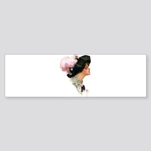 ASCOT LADY Sticker (Bumper)