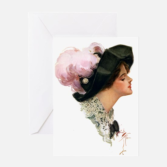 ASCOT LADY Greeting Card