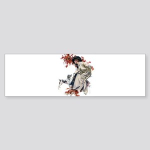 AUTUMN LEAVES Sticker (Bumper)