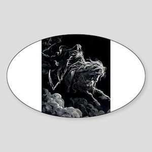 Death Angel Sticker (Oval)