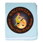 MOTHER IS A WITCH baby blanket