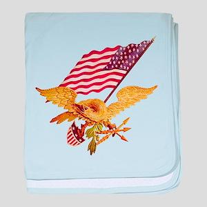 AMERICAN EAGLE baby blanket