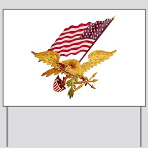 AMERICAN EAGLE Yard Sign
