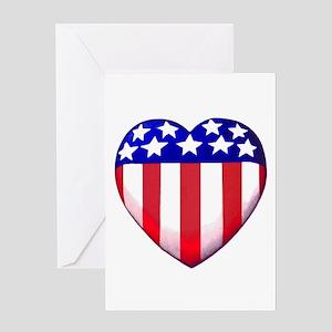 MY AMERICAN HEART Greeting Card