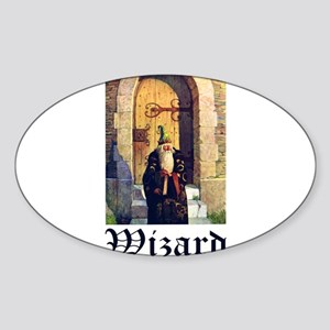 WIZARDS Sticker (Oval)