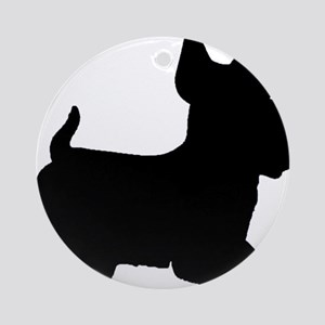 SCOTTY DOG Ornament (Round)