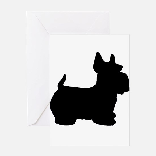 SCOTTY DOG Greeting Card