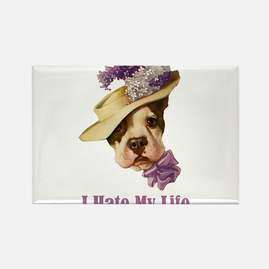 I HATE MY LIFE Rectangle Magnet (100 pack)