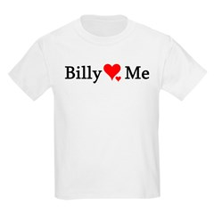 Billy Loves Me Kids T-Shirt