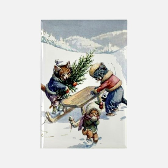READY FOR CHRISTMAS Rectangle Magnet (100 pack)