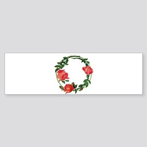 ART NOUVEAU ROSES Sticker (Bumper)