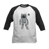Astronaut Baseball T-Shirt