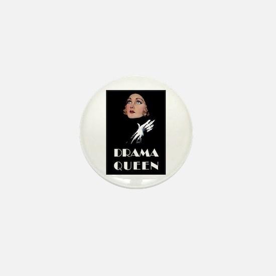 DRAMA QUEEN Mini Button