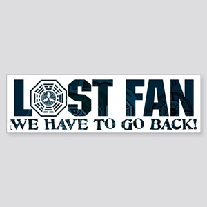 Lost Have to Go Back Sticker (Bumper)