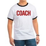 Coach (red) Ringer T