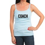 Coach (black) Jr. Spaghetti Tank