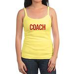 Coach (red) Jr. Spaghetti Tank